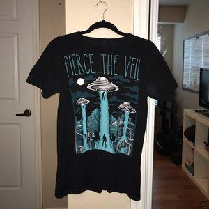 Pierce The Veil black t-shirt